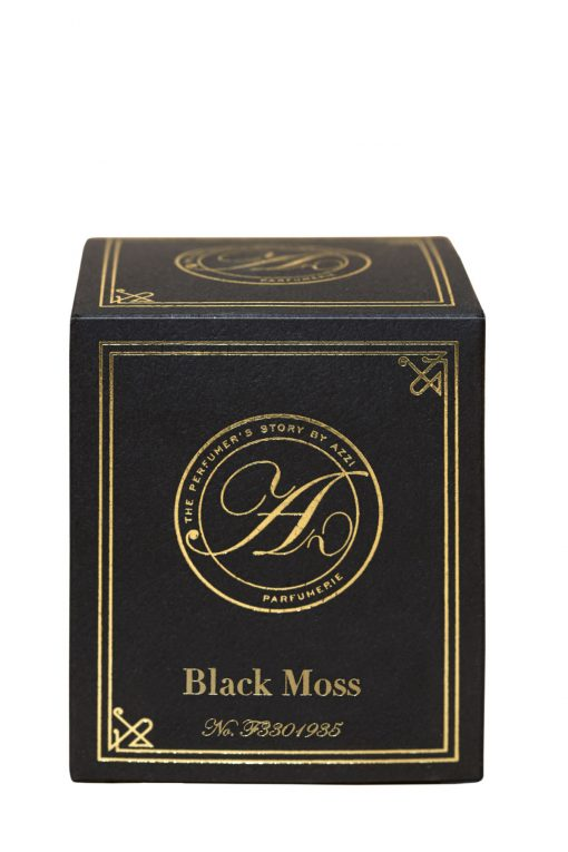Black Moss Candle Box