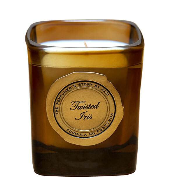Twisted Iris Candle